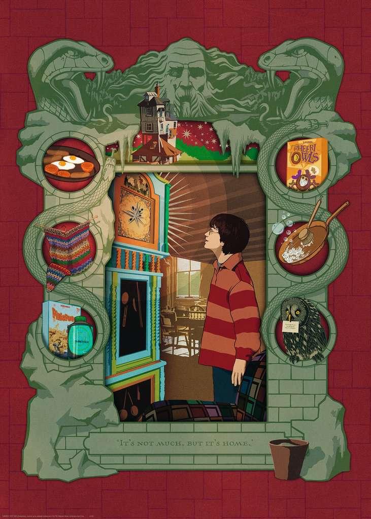 Harry Potter bei der Weasley Familie