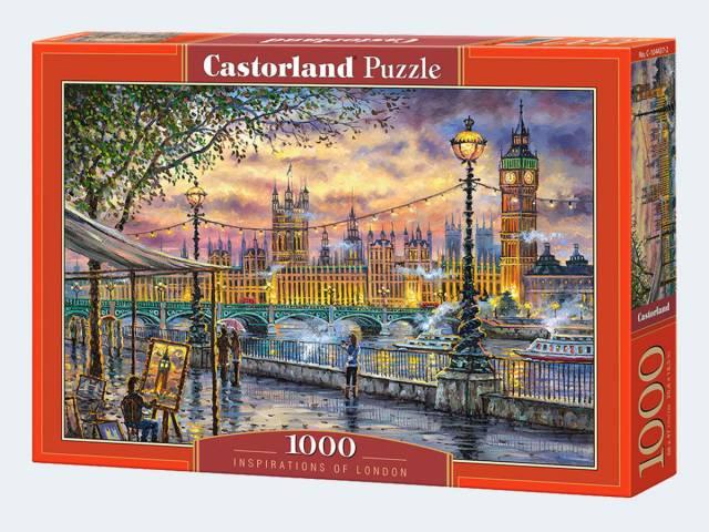 Puzzle 1000T London Inspiration Castorland