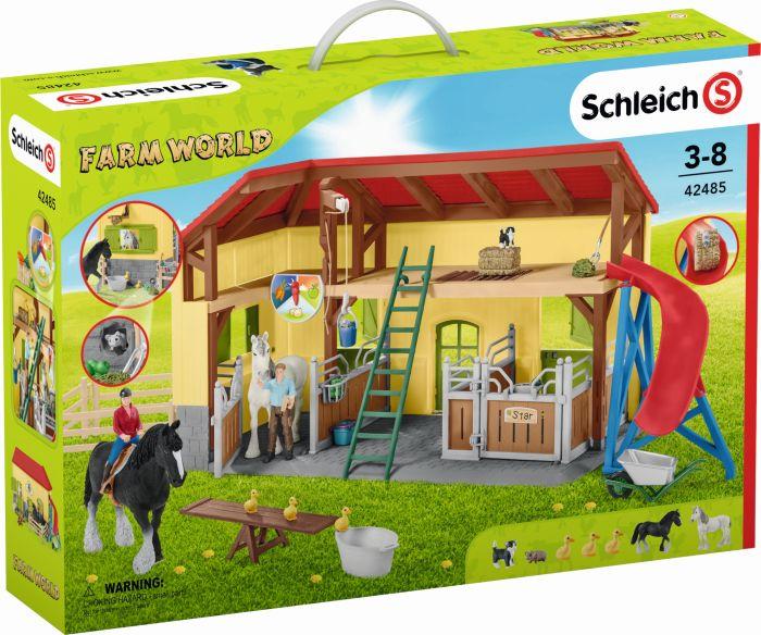 Schleich 42485 Farm World Pferdestall