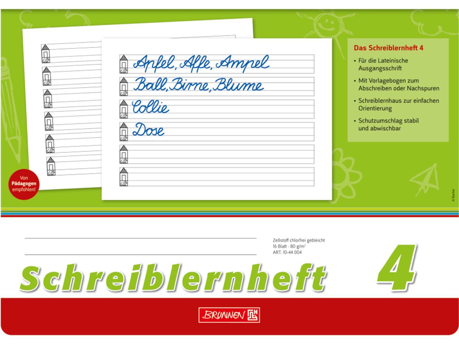 Br Schreiblernheft 4