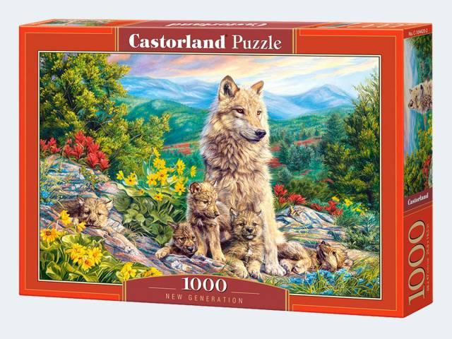 Puzzle 1000T Neue Generation Castorland