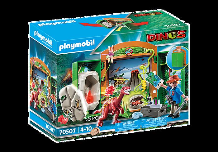 """Playmobil 70507 Spielbox """"Dinoforscher"""""""