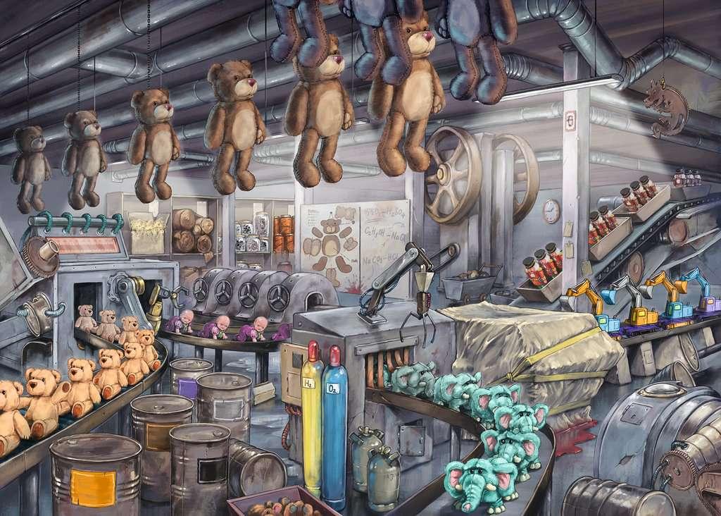 In der Spielzeugfabrik
