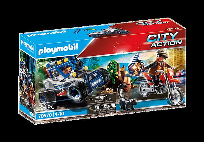 Playmobil 70570 Polizei-Geländewagen: Verfolgung des Schatzräubers