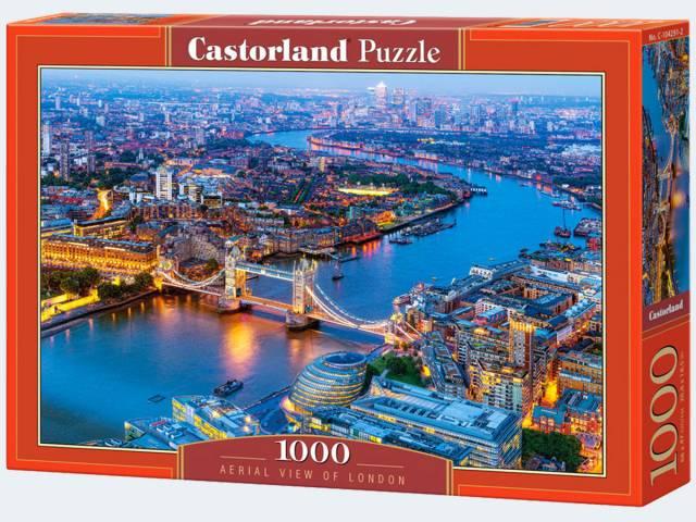 Puzzle 1000T Blick auf London Castorland