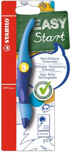 Rollerball Stabilo Easy Original LH hellblau-blau