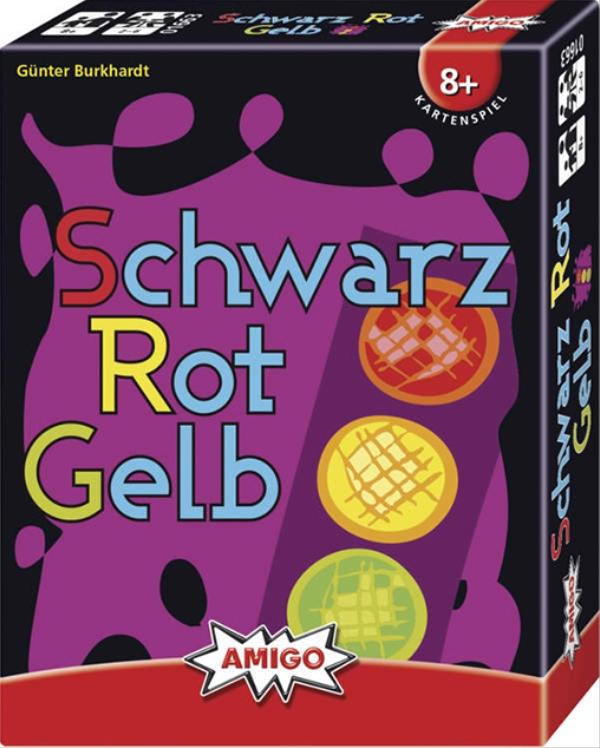AMIGO 01663 AMIGO 01663 Schwarz Rot Gelb - Refresh