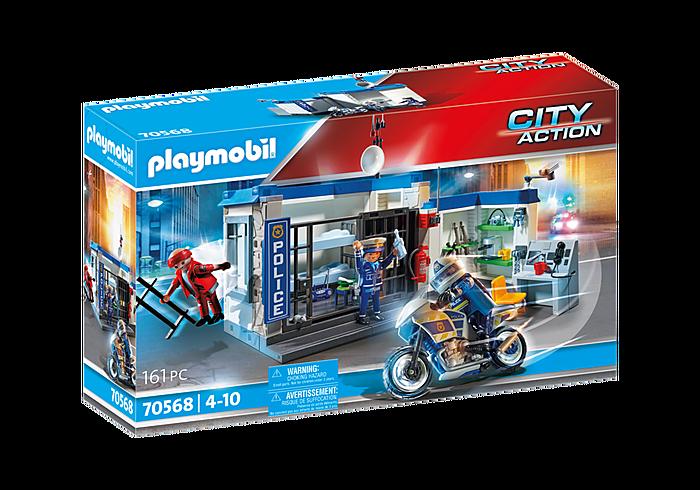 Playmobil 70568 Polizei-Motorrad: Flucht aus dem Gefängnis