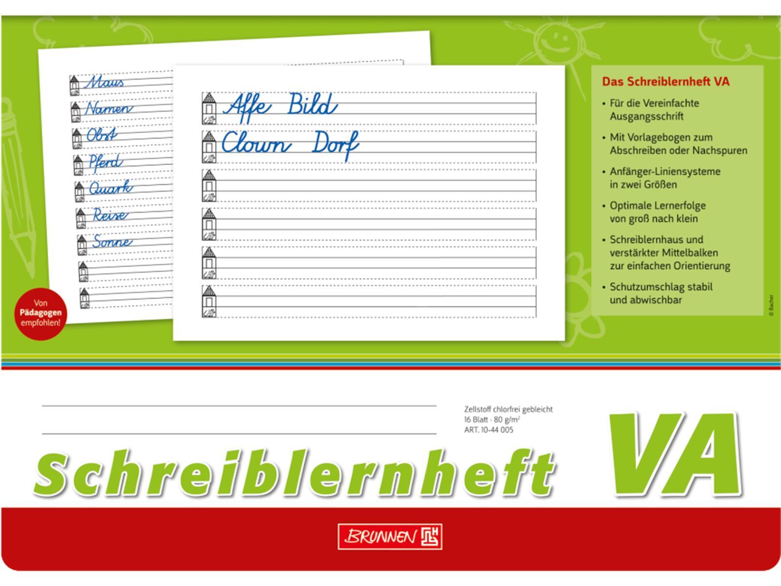 Br Schreiblernheft VA