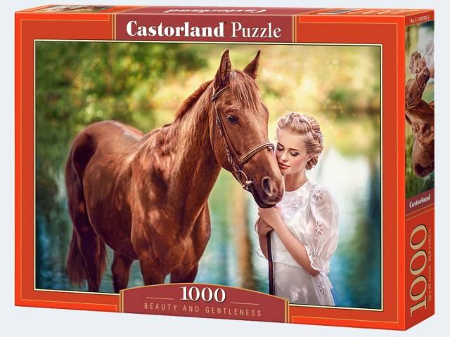 Puzzle 1000T Schönheit und Sanftmut Castorland